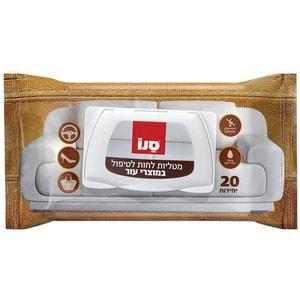 Servete curatat articole din piele SANO, 20 buc