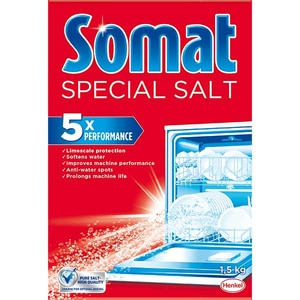 Sare dedurizanta pentru masina de spalat vase SOMAT, 1.5 kg