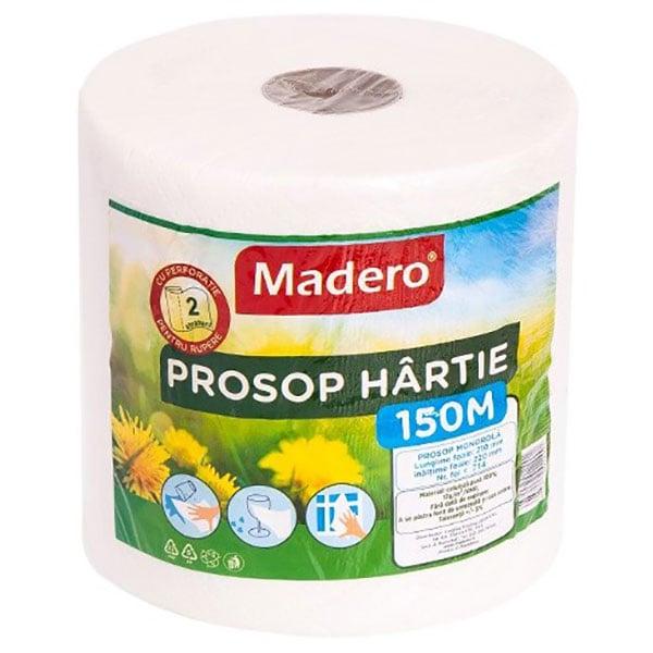 Prosoape de hartie MADERO 12001M, 2 straturi, 1 rola
