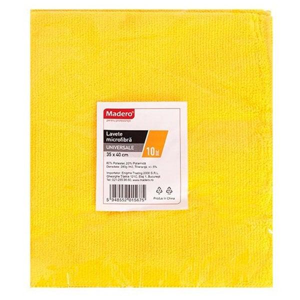Laveta microfibra MADERO 015675, 10 bucati