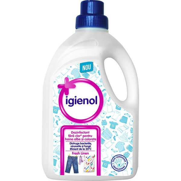 Dezinfectant haine IGIENOL Fresh Linen, 1.5l