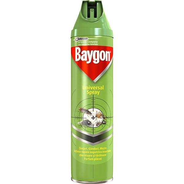 Spray anti-insecte BAYGON Universal, 400ml