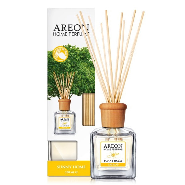 Odorizant cu betisoare AREON Home Perfume Sunny Home, 150ml