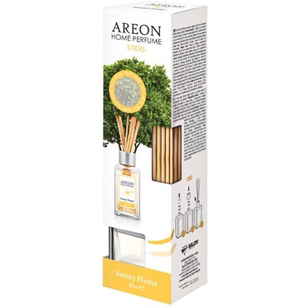 Odorizant cu betisoare AREON Home Perfume Sunny Home, 85ml