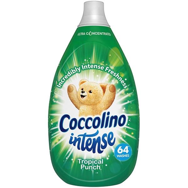Balsam de rufe COCCOLINO Intense Tropical Punch, 960ml, 64 spalari