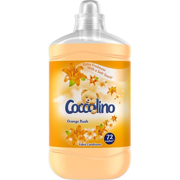 Balsam de rufe COCCOLINO Orange Rush, 1.8l, 72 spalari