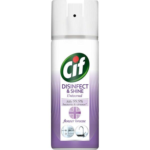 Spray dezinfectant suprafete CIF Flower Breeze, 400 ml