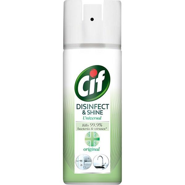 Spray dezinfectant suprafete CIF Original, 400 ml
