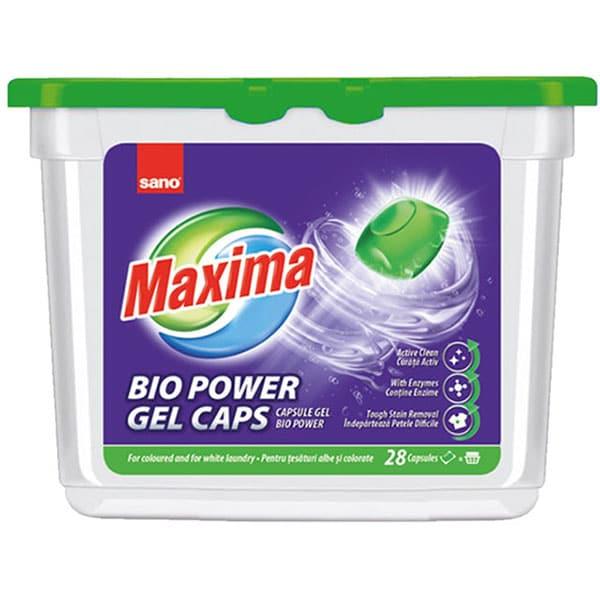 Detergent capsule SANO Maxima, 28 spalari