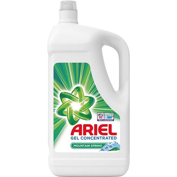 Detergent lichid ARIEL Mountain Spring, 4.4l, 80 spalari
