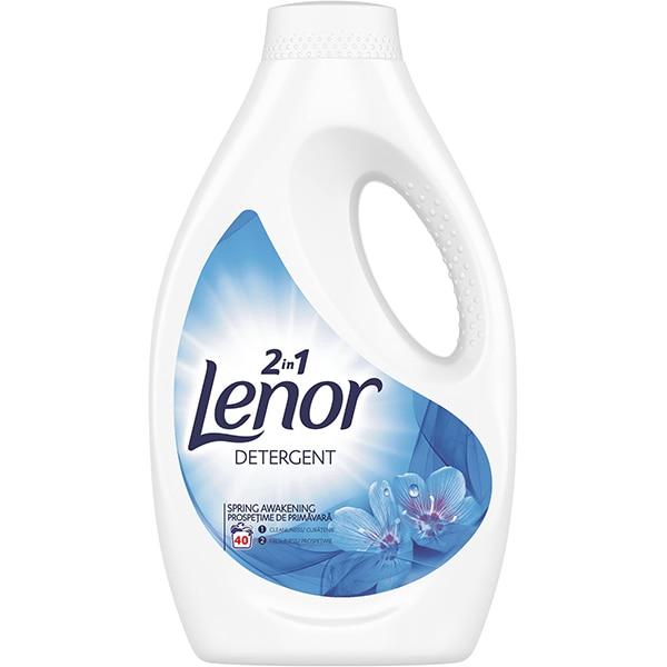 Detergent lichid LENOR Spring Awakaning, 2.2l, 40 spalari