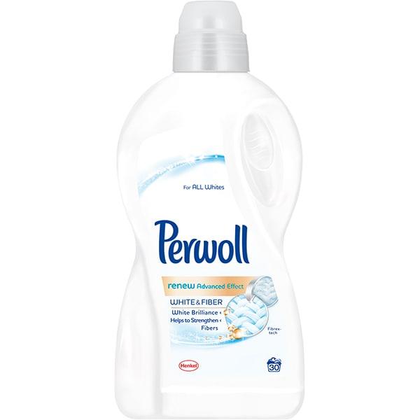 Detergent lichid PERWOLL Renew White, 1.8L, 30 spalari