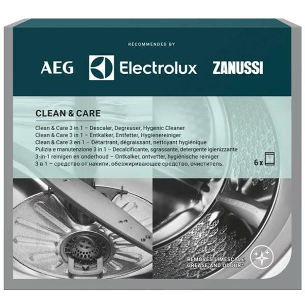 Solutie 3in1 Clean and Care pentru masinile de spalat rufe si masinile de spalat vase AEG M3GCP400