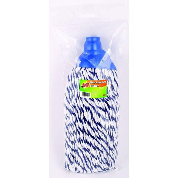 Rezerva mop SCOTCH-BRITE MMMO2000, alb-albastru