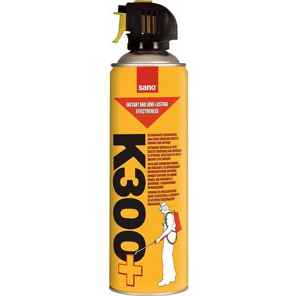 Spray anti-insecte si taratoare SANO K-300+, 400 ml