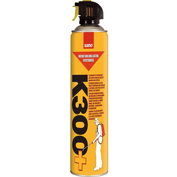 Spray anti-insecte si taratoare SANO K-300+, 630 ml