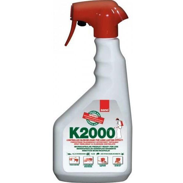 Solutie anti-insecte si taratoare SANO K-2000, 750 ml