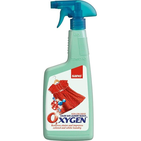 Solutie pentru curatat pete SANO Oxigen, 750ml