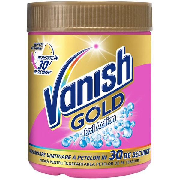Pudra VANISH Gold 423g pentru indepartarea petelor