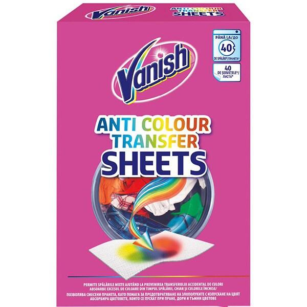 Servetele anti-transfer VANISH, 40 bucati