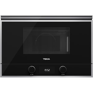 Cuptor cu microunde incorporabil TEKA ML 822 BIS R, 22l, 850W, Grill, negru