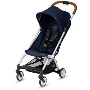 Carucior sport CYBEX Eezy S 519002541, 5 puncte, 6 luni - 4 ani, albastru inchis-maro