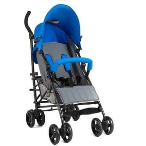 Carucior sport JUJU Little Traveler JU406001-BLUE-GREY, 5 puncte, 0 luni+, albastru-gri