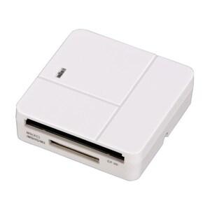 Cititor de carduri HAMA Basic 94125, USB 2.0, SD/microSD, alb