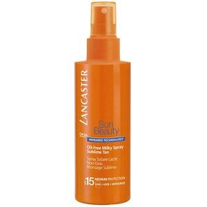 Spray protectie solara LANCASTER Sun Beauty Oil-Free Milky, SPF 15, 150ml