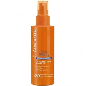 Spray protectie solara LANCASTER Sun Beauty Oil-Free Milky Spray Sublime Tan, SPF 30, 150ml