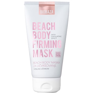 Crema exfolianta naturala pentru corp BIOBAZA Beach Body, 250ml