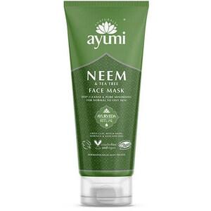 Masca de fata AYUMI Neem&Tea Tree, 100ml