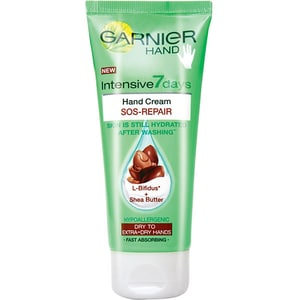 Crema de maini GARNIER Intensive 7 days Karite, 100ml