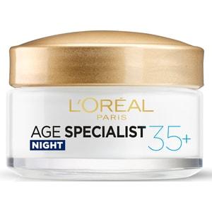 Crema de noapte antirid L'OREAL PARIS Age Specialist 35+, 50ml