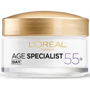 Crema de zi antirid L'OREAL PARIS Age Specialist 55+, 50ml
