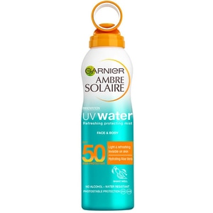 Spray protectie solara GARNIER  Ambre Solaire UV Water, SPF 50, 200ml
