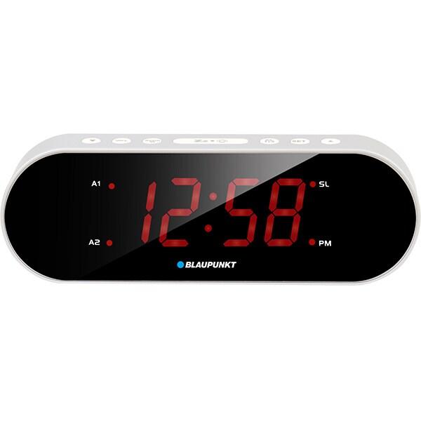 Radio cu ceas BLAUPUNKT CR6SL, FM, argintiu