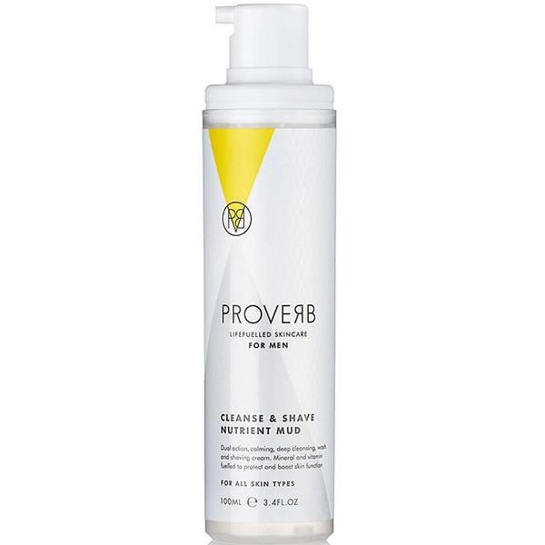 Crema nutritiva pentru barbierit si curatare PROVERB, 100ml