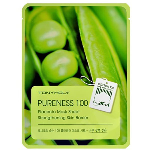 Masca de fata TONYMOLY Pureness 100 Placenta Mask Sheet Vitality, 21g
