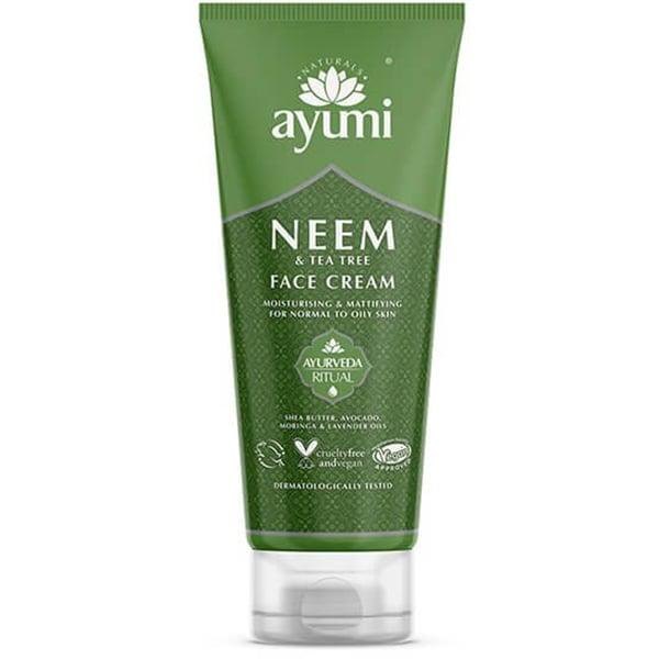 Crema de fata cu Neem&Tea Tree AYUMI, 100ml