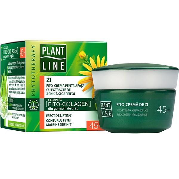 Crema antirid de zi cu extract de arnica PLANT LINE, 45+, 45ml