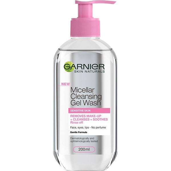 Gel micelar pentru ten sensibil GARNIER Skin Naturals, 200ml