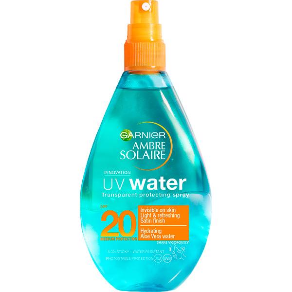 Spray protectie solara bifazic GARNIER Ambre Solaire UV Water, SPF 20, 150ml