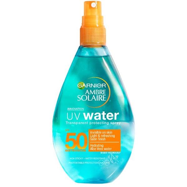 Spray protectie solara bifazic GARNIER Ambre Solaire UV Water, SPF 50, 150ml