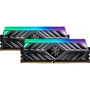 Memorie desktop ADATA XPG Spectrix D41 RGB, 2x16GB DDR4, 3600MHz, CL18, AX4U360016G18A-DT41