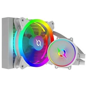Cooler procesor cu racire lichida AQIRYS Aquarius 120 AiO White, 120mm