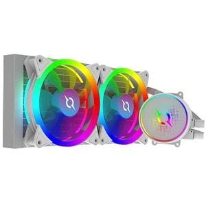Cooler procesor cu racire lichida AQIRYS Aquarius 240 AiO White, 120mm