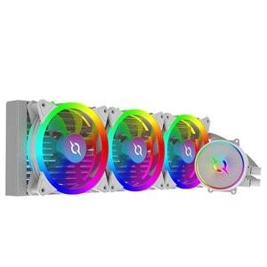 Cooler procesor cu racire lichida AQIRYS Aquarius 360 AiO White, 120mm
