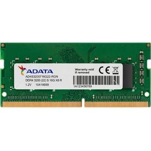 Memorie laptop ADATA Premier, 16GB DDR4, 3200MHz, CL22, AD4S320016G22-SGN
