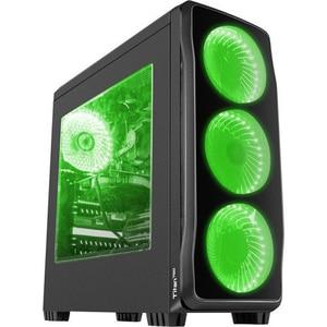 Carcasa GENESIS Titan 750 Green,USB 3.0, fara sursa, negru